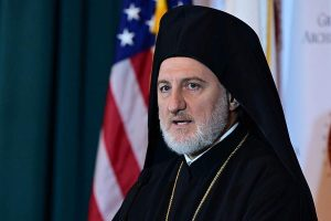 Ο Αρχιεπίσκοπος Αμερικής ευχαριστεί την «Ηγεσία των 100»