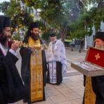 Υποδοχή λειψάνων του Αγίου Ιωάννου Μονεμβασιώτου στην Καλαμάτα