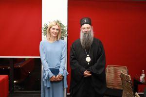 """Εντυπωσιασμένος από το """"Man of God"""" ο Πατριάρχης Σερβίας"""