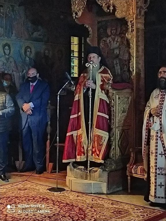 You are currently viewing Μνήμη Αγίου Ιγνατίου Αρχιεπισκόπου Μηθύμνης στην Ιερά Μονή Λειμώνος της Ι. Μητροπόλεως Μηθύμνης στην Καλλονή Λέσβου