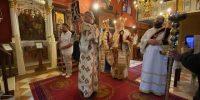 Ο Μητροπολίτης Κερκύρας στον Ιερό Ναό Αγίου Νικολάου Σιδαριου