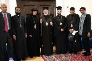 Συνάντηση του Αρχιεπισκόπου Θυατείρων με τον Επίσκοπο Μακάριο της Εκκλησίας της Ερυθραίας
