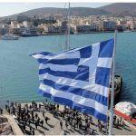 Υψώθηκε η μεγάλη Σημαία στον μόνιμο ιστό στο λιμάνι της Χίου ( Βίντεο)